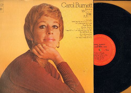 Burnett, Carol - If I Could Write A Song: Rose Garden, Those Were The Days, Sunrise Sunset, For All We Know, It's Too Late (Vinyl STEREO LP record) - EX8/EX8 - LP Records