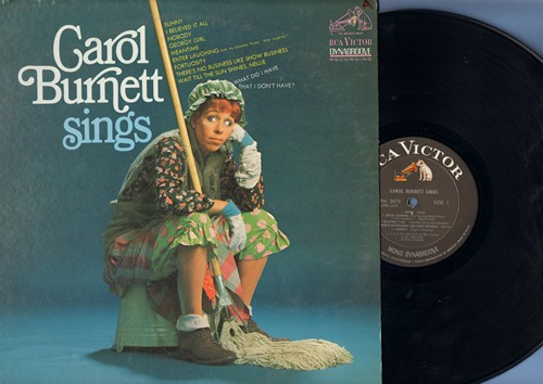 Burnett, Carol - Carol Burnett Sings: Sunny, Georgy Girl, There's No Business Like Show Business, Enter Laughing (Vinyl MONO LP record) - NM9/EX8 - LP Records