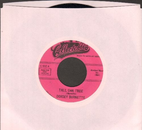 Burnette, Dorsey - Tall Oak Tree/Hey Little One (double-hit re-issue) - NM9/ - 45 rpm Records