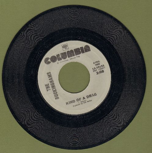 Buckinghams - Kind Of A Drag/Back In Love Again (double-hit re-issue) - NM9/ - 45 rpm Records