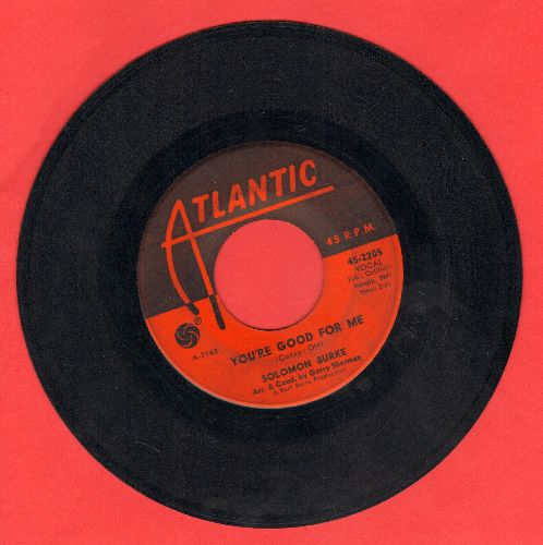 Burke, Solomon - You're Good For Me/Beautiful Brown Eyes - VG7/ - 45 rpm Records