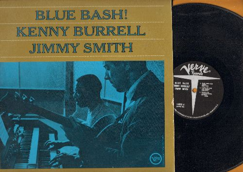 Burrell, Kenny & Jimmy Smith - Blue Bash!: Fever, Blues For Del, Kenny's Sound (vinyl LP record) - VG7/EX8 - LP Records