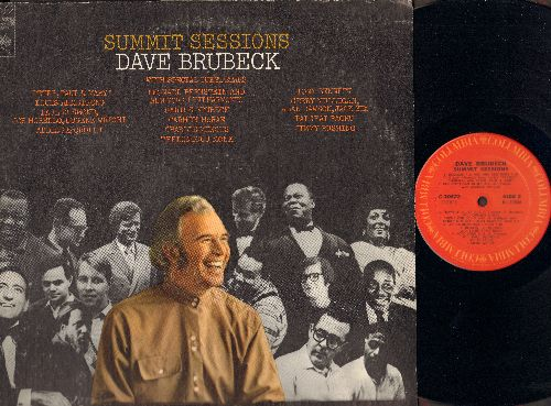 Brubeck, Dave with Special Guest Stars - Summit Sessions: That Old Black Magic, Blues In The Dark, Non-Sectarian Blues, Raga Theme For Raghu (Vinyl STEREO LP record) - NM9/VG7 - LP Records