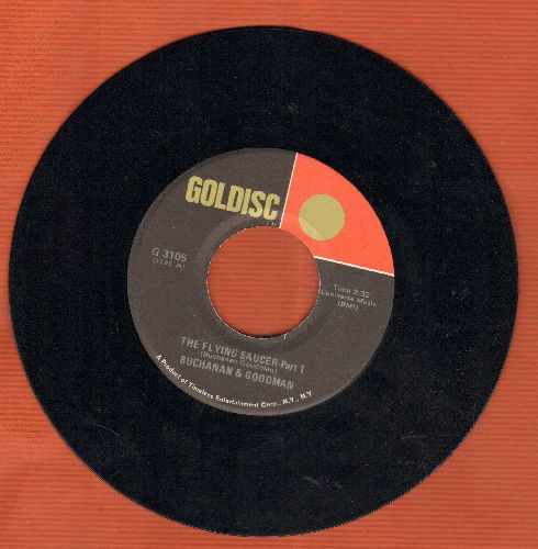 Buchanan & Goodman - The Flying Saycer (Parts 1+2) ('cut-in' novelty) (early re-issue) - NM9/ - 45 rpm Records