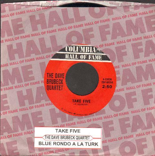 Brubeck, Dave Quartet - Take Five/Blue Rondo A La Turk (with juke box label) - NM9/ - 45 rpm Records