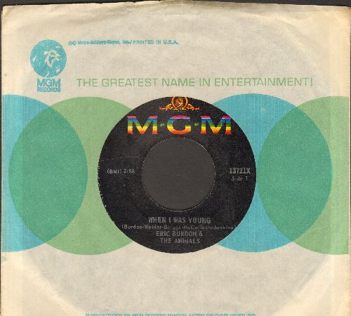 Burdon, Eric & The Animals - A Girl Named Sandoz/When I Was Young (with MGM company sleeve) - EX8/ - 45 rpm Records