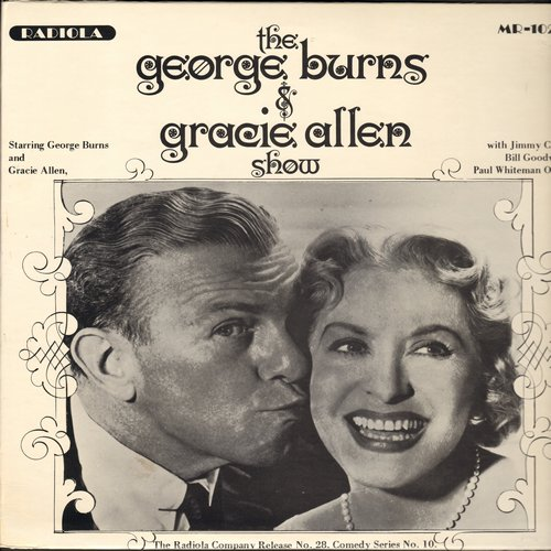 Burns, George & Gracie Allen - The Burns & Allen Show - Vintage Radio Shows on vinyl LP record - NM9/NM9 - LP Records