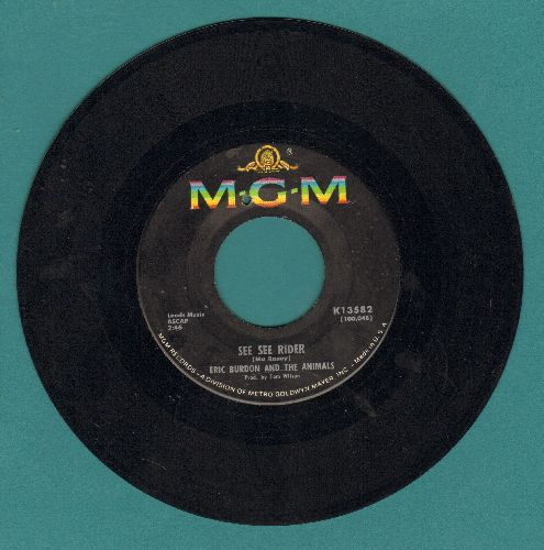 Burdon, Eric & The Animals - She'll Return It/See See Rider (bb) - EX8/ - 45 rpm Records