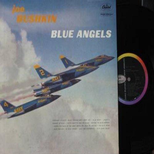 Bushkin, Joe - Blue Angels: Blue Moon, My Blue Heaven, Serenade In Blue, Blue Prelude (Vinyl MONO LP record) - NM9/EX8 - LP Records