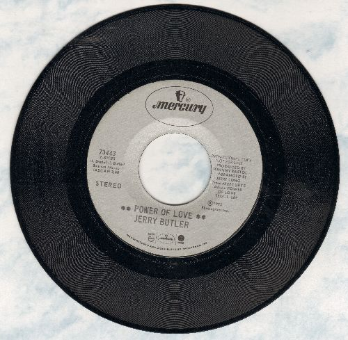 Butler, Jerry - Power Of Love/What Do You Do On A Sunday Afternoon (DJ advance pressing) - M10/ - 45 rpm Records