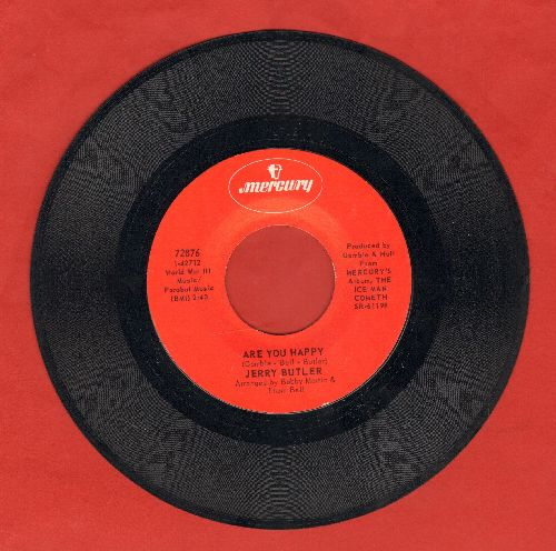 Butler, Jerry - Are You Happy/(Strange) I Still Love You - NM9/ - 45 rpm Records