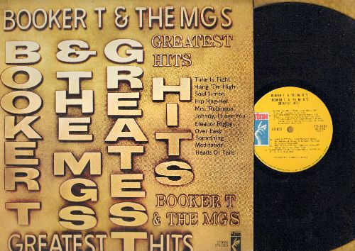 Booker T. & The M.G.'s - Greatest Hits: Soul Limbo, Mrs. Robinson, Eleanor Rigby, Something, Hip Hug-Her (Vinyl STEREO LP record) - NM9/EX8 - LP Records