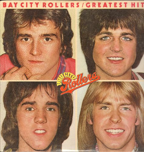 Bay City Rollers - Greatest Hits: I Only Want To Be With You, Saturday Night, You Made Me Believe In Magic, Rock And Roll Love Letter, Money Honey (Vinyl LP record, NICE condition, shrink wrap!) - NM9/NM9 - LP Records