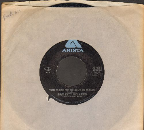 Bay City Rollers - You Made Me Believe In Magic/Dance Dance Dance (with Arista company sleeve) - NM9/ - 45 rpm Records