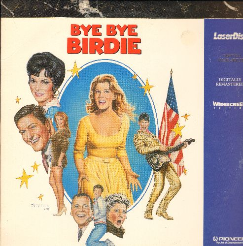 Ann-Margret - Bye Bye Birdie - Widescreen LASER DISC version of the Classic Teen Rock & Roll Musical starring Ann Margret! - NM9/EX8 - Laser Discs