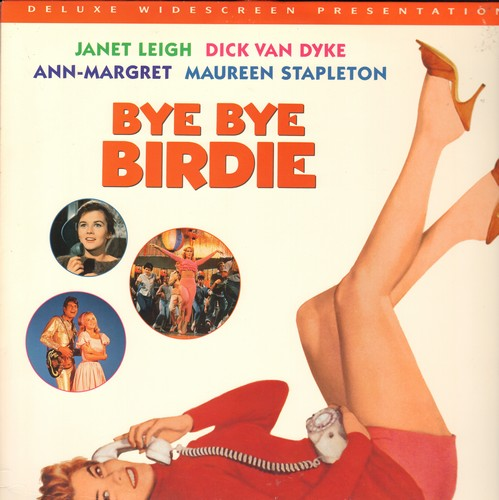 Bye Bye Birdie - Bye Bye Birdie - Deluxes Widescreen LASER DISC version of the Musical Classic starring Ann-Margret and Dick Van Dyke (This is a LASER DISC, not any other kind of media!) - NM9/NM9 - Laser Discs