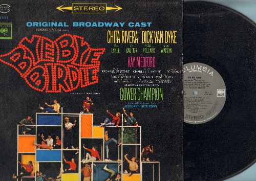 Bye Bye Birdie - Bye Bye Birdie - Original Broadway Cast starring Chita Rivera, Dock Van Dyke and Paul Lynde. (vinyl STEREO LP record) - NM9/NM9 - LP Records