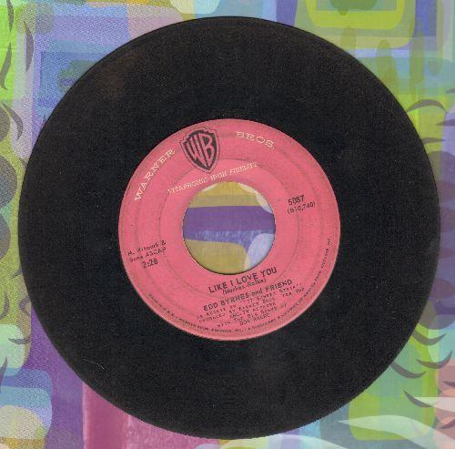 Byrnes, Edd & Friend - Kookie's Mad Pad/Like I Love You  - G5/ - 45 rpm Records