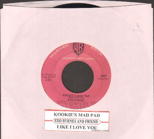 Byrnes, Edd  - Kookie's Love Song/Do It Yourself Sing With Edd Byrnes (Kookie) Kookie's Love Song  - VG6/ - 45 rpm Records