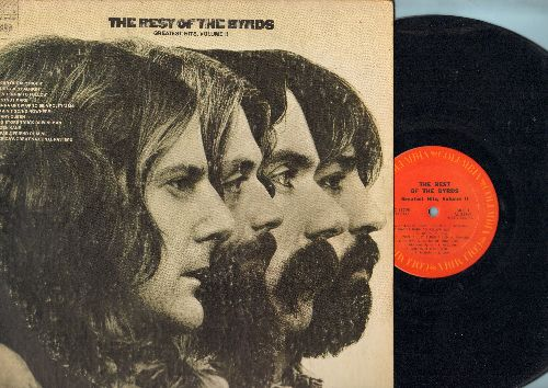 Byrds - The Best Of Vol. 2: Ballad Of Easy Rider, Jesus Is Just Alright, Tiffany Queen, Citizen Kane, Chestnut Mare (vinyl STEREO LP record) - EX8/VG7 - LP Records