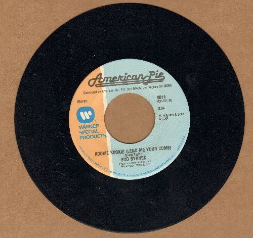 Byrnes, Edd & Connie Stevens - Kookie, Kookie, Lend Me Your Comb/Out Of Limits (by The Marketts on flip-side) (re-issue) - NM9/ - 45 rpm Records