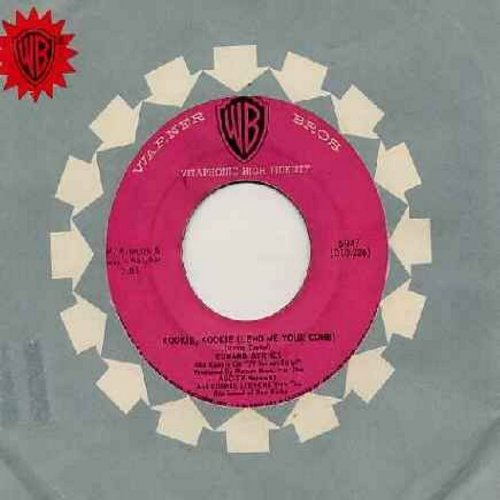Byrnes, Edd & Connie Stevens - Kookie, Kookie, Lend Me Your Comb/You're The Top (pink label first issue with Warner Brothers company sleeve) - EX8/ - 45 rpm Records