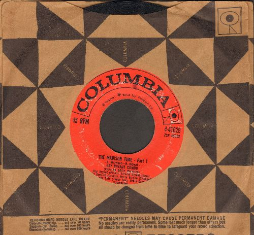 Bryant, Ray Combo - The Madison Time (Parts 1 + 2) (with Columbia company sleeve) - VG6/ - 45 rpm Records