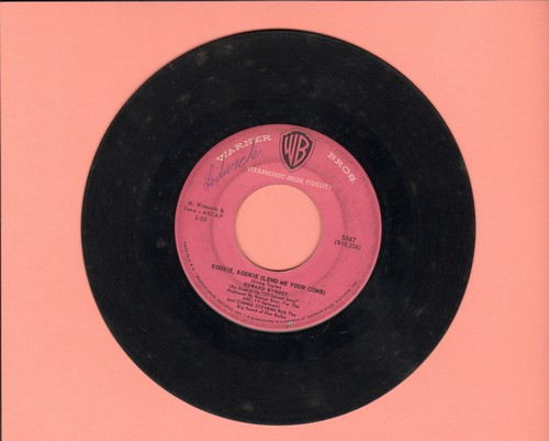 Byrnes, Edd & Connie Stevens - Kookie, Kookie, Lend Me Your Comb/You're The Top (wol) - VG7/ - 45 rpm Records
