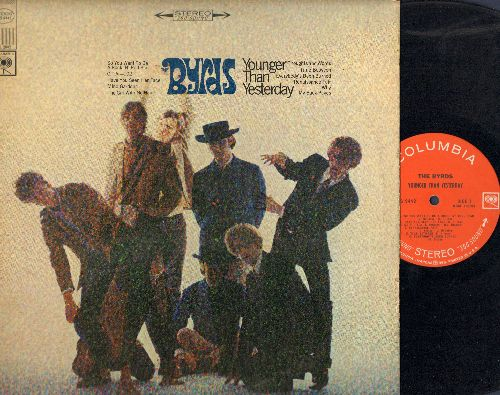 Byrds - Younger Than Yesterday: So You Want To Be A Rock'N'Roll Star, Renaissance Fair, Everybody's Been Burned, Thoughts And Words, The Girl With No Name (vinyl STEREO LP record) - VG7/VG7 - LP Records