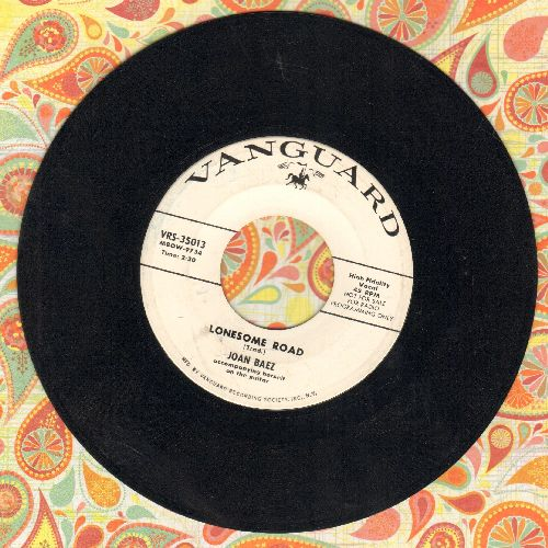 Baez, Joan - Lonesome Road/Pal Of Mine (DJ advance pressing) - EX8/ - 45 rpm Records