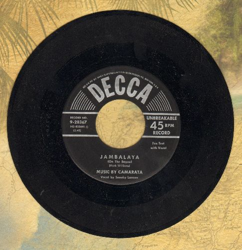 Lanson, Snooky with Music by Camarata - Jambalaya (On The Bayou)/Mademoiselle - NM9/ - 45 rpm Records