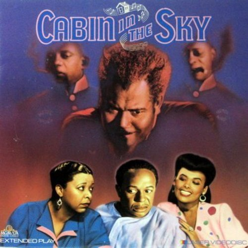Cabin In The Sky - Cabin In The Sky - LASERDISC version of the Classic 1943 MGM Musical starring Lena Horne and featuring the show-stopper -Stormy Weather- (This is a LASERDISC, NOT ANY OTHER KIND OF MEDIA!) - NM9/NM9 - LaserDiscs