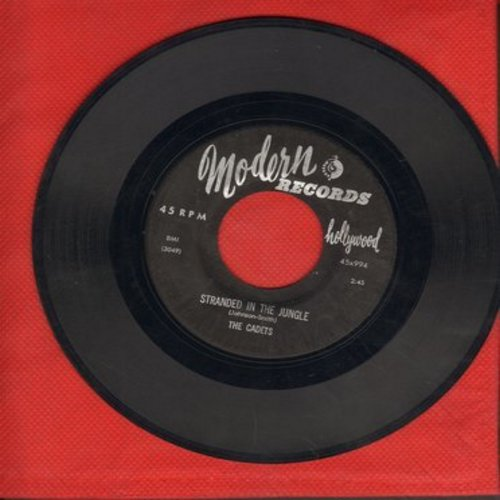 Cadets - Stranded In The Jungle/I Want You (wol) - VG6/ - 45 rpm Records
