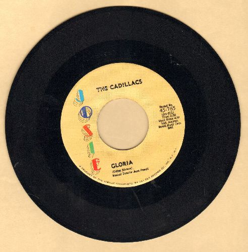 Cadillacs - Gloria/I Wonder Why (multi-color logo pressing) - NM9/ - 45 rpm Records