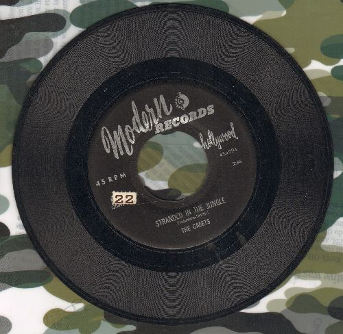 Cadets - Stranded In The Jungle/I Want You (wol) - VG7/ - 45 rpm Records