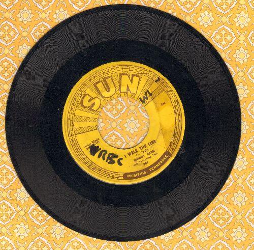 Cash, Johnny - I Walk The Line/Get Rhythm (wol) - VG6/ - 45 rpm Records