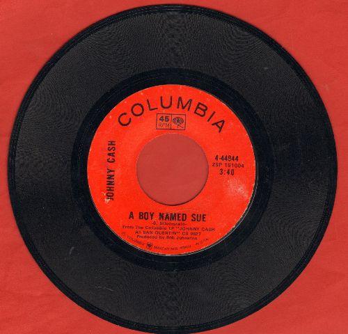 Cash, Johnny - A Boy Named Sue/San Quentin - EX8/ - 45 rpm Records