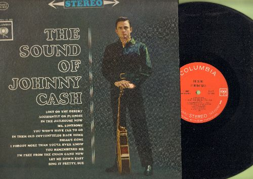 Cash, Johnny - The Sound Of Johnny Cash: Lost On The Desert, Mr. Lonesome, Delia's Gone, Let Me Down Easy (Vinyl STEREO LP record) - EX8/EX8 - LP Records