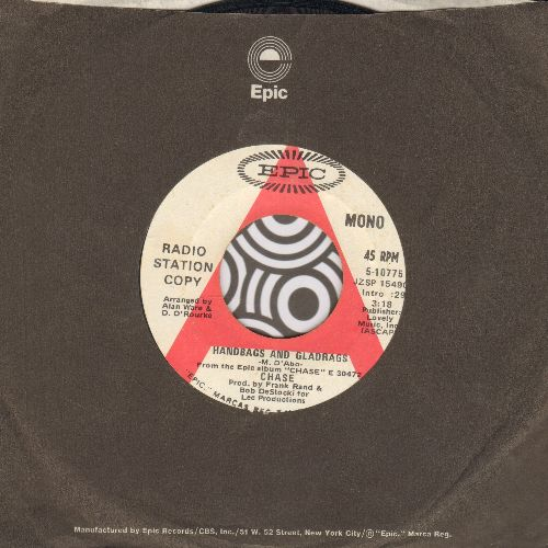 Chase - Handbags And Gladrags/Open Up Wide (DJ advance pressing with Epic company sleeve) - VG7/ - 45 rpm Records
