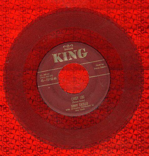 Callello, Sonny - Cindy Lou/The King (RARE 1952 Red Vinyl Pressing) - VG6/ - 45 rpm Records