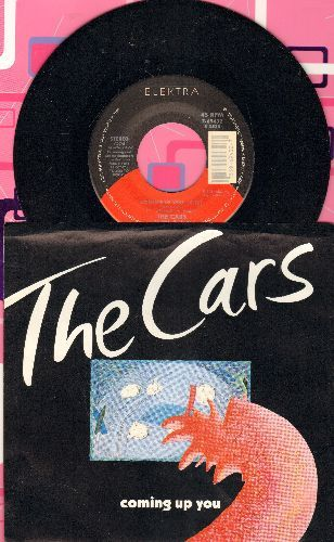 Cars - Coming Up You/Double Trouble (with picture sleeve) - NM9/NM9 - 45 rpm Records