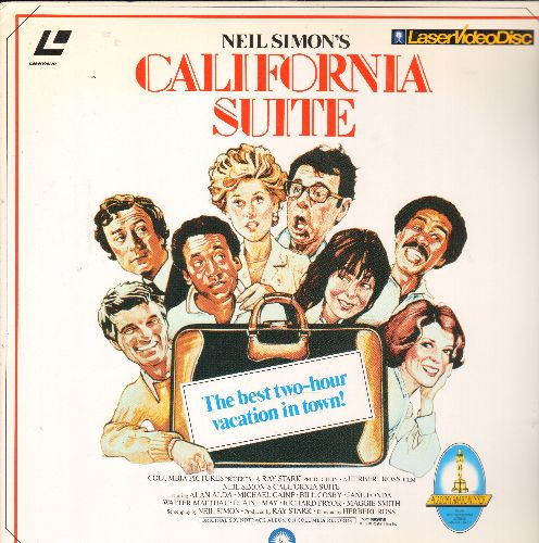 California Suite - California Suite - LASER DISC version of theAll-Star Neil Simon Classic. (This is a LASER DISC, not any other kind of media!) - NM9/NM9 - Laser Discs
