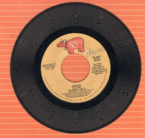 Valli, Frankie - Grease (Is The Word)/Grease (Instrumental) (minor wol) - VG6/ - 45 rpm Records