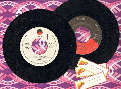 Cars - 2 for 1 Special: Drive/You Might Think (2  first issue 45rpm records for the price of 1! Shipped in plain paper sleeves with 3 blank juke box label) - NM9/ - 45 rpm Records