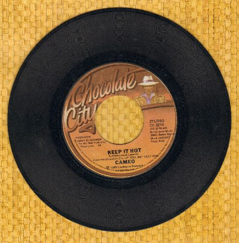 Cameo - Keep It Hot/I Care For You  - EX8/ - 45 rpm Records