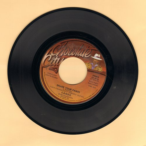 Cameo - Shake Your Pants (I Like The Way You Dance)/I Care For You (MINT condition) - EX8/ - 45 rpm Records