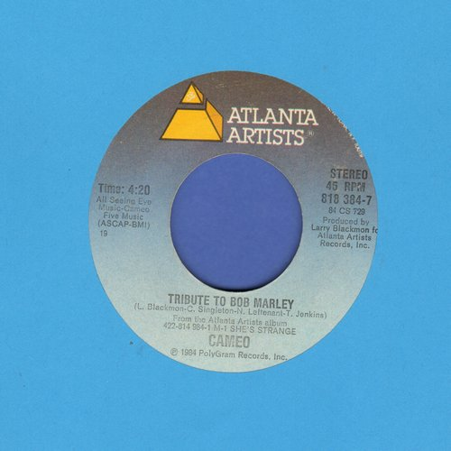 Cameo - Tribute To Bob Marley/She's Strange - NM9/ - 45 rpm Records
