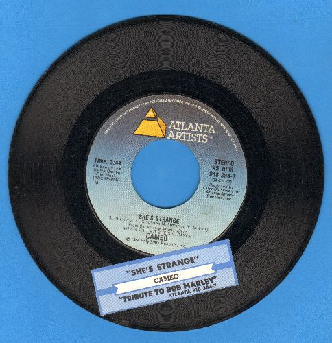 Cameo - She's Strange/Tribute To Bob Marley (with juke box label) - EX8/ - 45 rpm Records