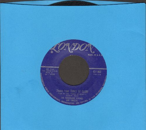 Cambridge Strings & Singers - Theme From -Tunes Of Glory-/Love Theme From -The World Of Suzie Wong - EX8/ - 45 rpm Records