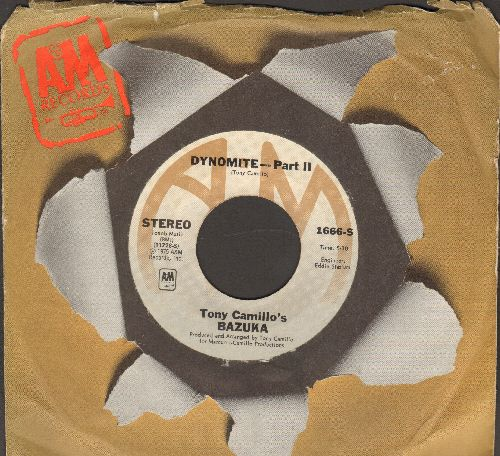 Camillo, Tony's Bazuka - Dynomite! (Parts 1 + 2) (with A&M company sleeve) - EX8/ - 45 rpm Records